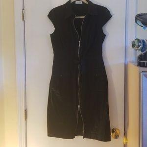 Calvin Klein Zip up Zip down fun dress!